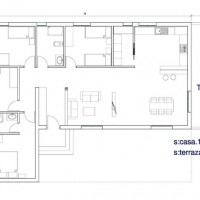 House 1 Plant of 146,40m2
